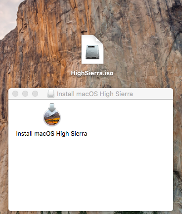 How to create a Bootable ISO image of macOS 10 13 High Sierra
